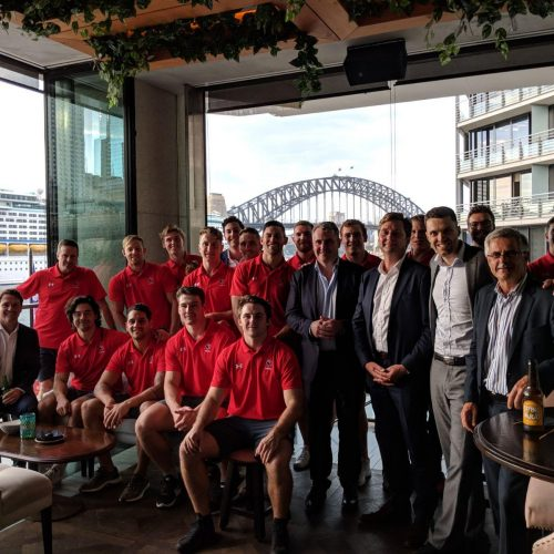 Velocity hosts Canadian Men's Sevens Rugby team prior to Sydney leg of World Rugby Sevens Series